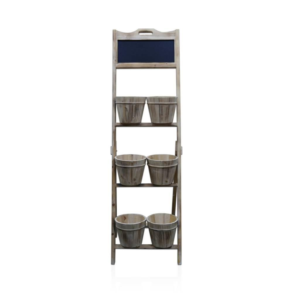 Decorative Bucket Shelf
